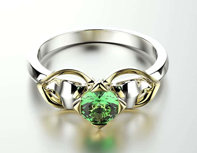 How Many Women Wear Emerald Engagement Rings?