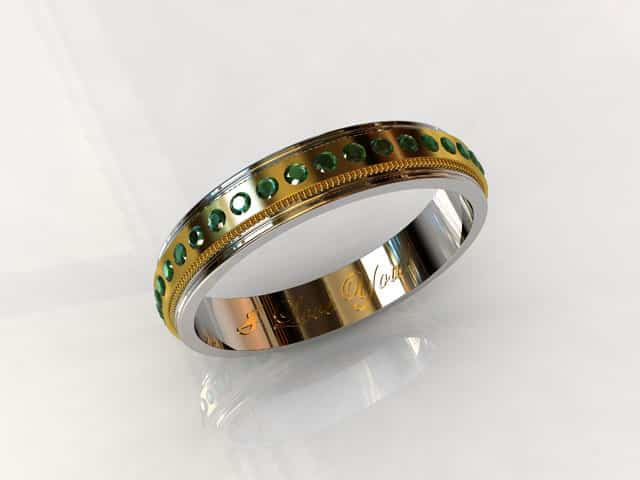 What Forever Means In An Emerald Eternity Band