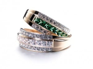 An Emerald and Diamond Ring For Your Engagement